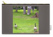 Strolling Canadian Geese Carry-all Pouch