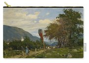 Strutzel, Otto 1855 Dessau - 1930   On The Way Home. In The Background The Steeple Of Garmisch-parte Carry-all Pouch