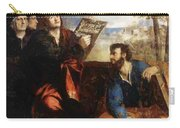 Sts John And Bartholomew With Donors 1527 Carry-all Pouch