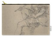 Study For An Allegory Of Painting Carry-all Pouch