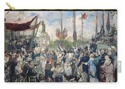 Study For Le 14 Juillet 1880 Carry-all Pouch