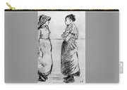 Study For The Cat Camille Pissarro Carry-all Pouch