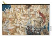 Study For The Coming Of The Americans , John Singer Sargent Carry-all Pouch