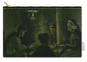 Study For The Potato Eaters' Nuenen, April 1885 Vincent Van Gogh 1853  1890 Carry-all Pouch