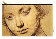 Study For Vicomtesse D Hausonville Born Louise Albertine De Broglie Carry-all Pouch