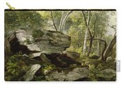 Study From Nature   Rocks And Trees Carry-all Pouch