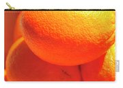 Study In Orange Carry-all Pouch