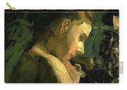Study Of A Girl Head 1869 Carry-all Pouch
