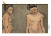 Study Of A Naked Model Carry-all Pouch