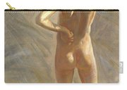 Study Of A Nude Boy Carry-all Pouch