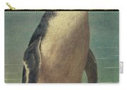 Study Of A Penguin Carry-all Pouch by Henry Stacey Marks