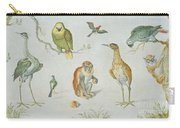 Study Of Birds And Monkeys Carry-all Pouch