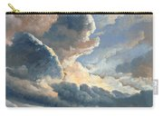 Study Of Clouds With A Sunset Near Rome Carry-all Pouch