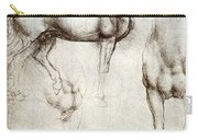 Study Of Horses 1490 Carry-all Pouch