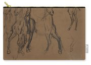 Study Of Horses Carry-all Pouch