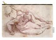 Study Of Three Male Figures Carry-all Pouch