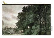 Study Of Trees Carry-all Pouch by John Constable