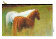 Study Of Two Ponies Carry-all Pouch