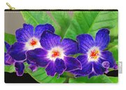 Stunning Blue Flowers Carry-all Pouch