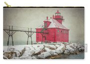 Sturgeon Bay Pierhead Lighthouse Storm Carry-all Pouch