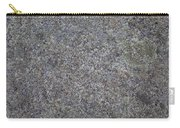 Subtle Lichen On Granite Texture Carry-all Pouch