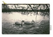 Subtle Swans  Carry-all Pouch