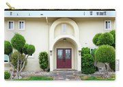 Modern Suburban House With Topiary Hayward California 31 Carry-all Pouch