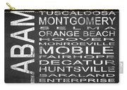 Subway Alabama State Square Carry-all Pouch