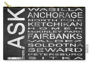 Subway Alaska State Square Carry-all Pouch