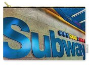 Subway Entrance Carry-all Pouch