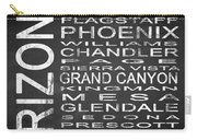 Subway Arizona State Square Carry-all Pouch
