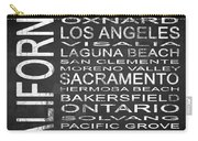 Subway California State 2 Square Carry-all Pouch