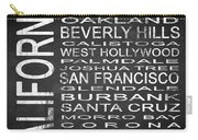 Subway California State Square Carry-all Pouch