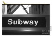 Subway Carry-all Pouch