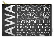 Subway Hawaii State Square Carry-all Pouch