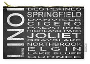Subway Illinois State 2 Square Carry-all Pouch