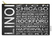 Subway Illinois State Square Carry-all Pouch