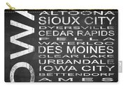 Subway Iowa State Square Carry-all Pouch