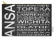 Subway Kansas State Square Carry-all Pouch