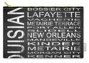 Subway Louisiana State Square Carry-all Pouch