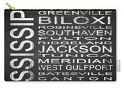 Subway Mississippi State Square Carry-all Pouch