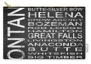 Subway Montana State Square Carry-all Pouch