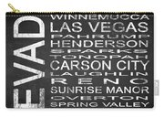 Subway Nevada State Square Carry-all Pouch