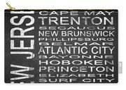 Subway New Jersey State Square Carry-all Pouch