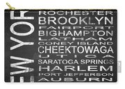 Subway New York State 3 Square Carry-all Pouch