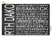 Subway North Dakota State Square Carry-all Pouch