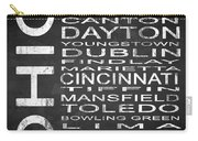 Subway Ohio State Square Carry-all Pouch