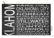 Subway Oklahoma State Square Carry-all Pouch