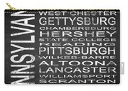 Subway Pennsylvania State Square Carry-all Pouch