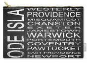Subway Rhode Island State Square Carry-all Pouch